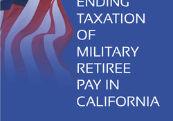 SDMAC to Release Report on Exempting California Military Retiree Pay from State Taxation